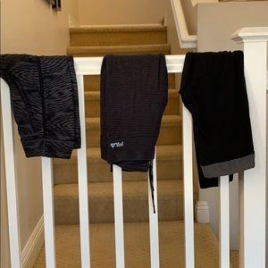 Pants - Set of three workout pants